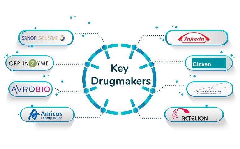 Gaucher Disease Companies