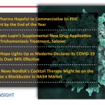 Albireo's PFIC Therapy; Lupin's Trichomoniasis Drug; Moderna's COVID vaccine; NASH Cocktail Therapy