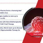 KaliVir, Astellas deal; AbCellera IPO; Bayer's CAR-T collabs; NASH therapy