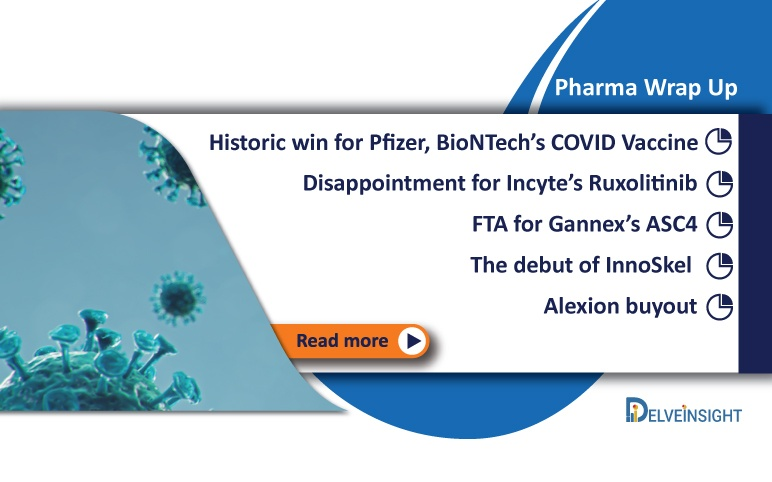 Historic win for Pfizer's COVID-19 Vaccine; Alexion Buyout; and more