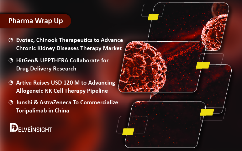 Evotec, Chinook's CKD Therapy; Junshi, AZ with Toripalimab in China