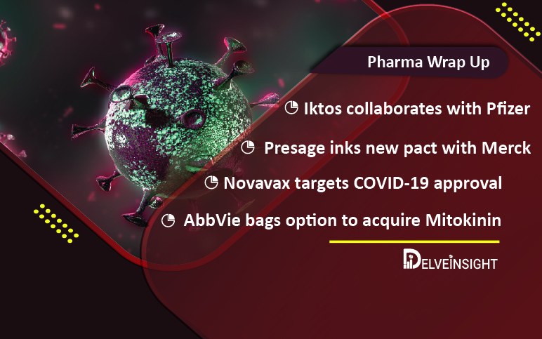 recent-pharma-happenings-for-Pfizer AbbVie Novavax Iktos Pfizer