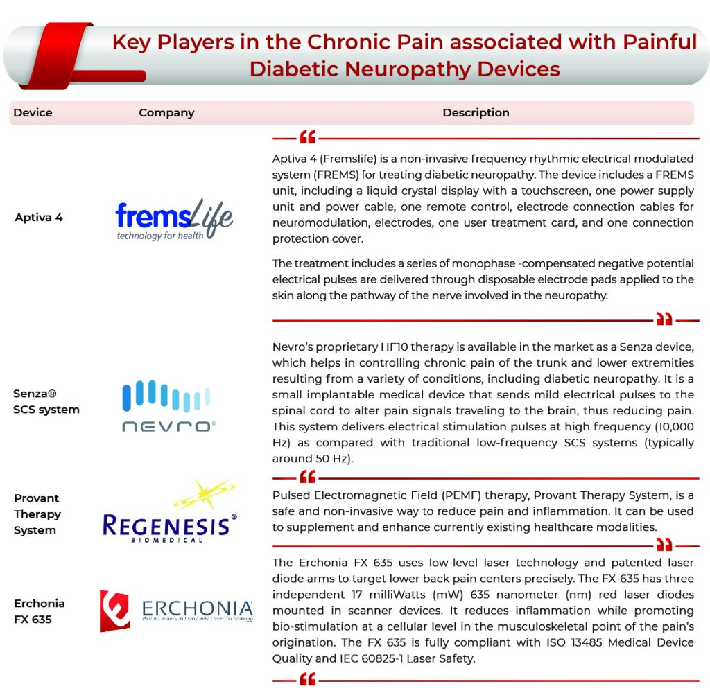 Chronic Pain Associated With Painful Diabetic Neuropathy: Market Key Companies | Chronic Pain Associated With Painful Diabetic Neuropathy Market