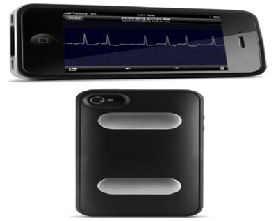 Alivecor and ECG Check (Cardiac Designs) system | Real-time Smartphone Monitoring |  Cardiac monitoring devices market